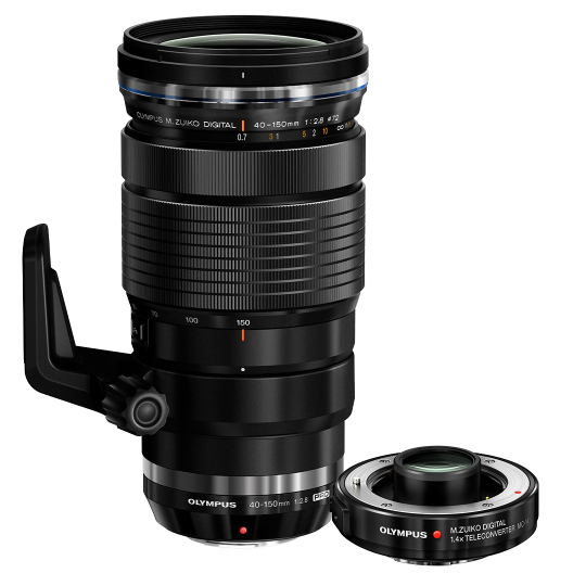 Olympus M.ZUIKO  40-150mm 1:2.8 PRO & MC 1.4