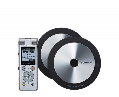 Olympus DM‑720 Meet & Record Kit | Edition large | 2 Microfoni