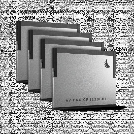 Angelbird AV PRO CF | 4 PACK