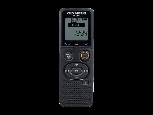 Olympus VN‑541PC con il microfono per registrazioni telefoniche TP8
