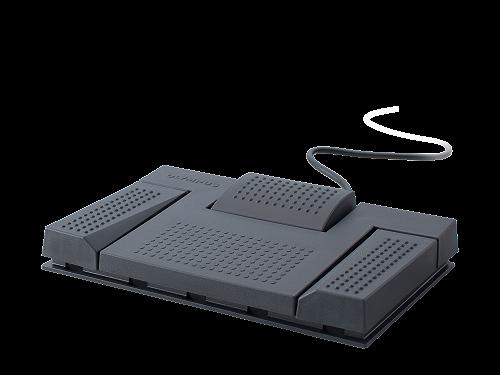 Olympus RS28H Pedaliera USB con 3 pedali