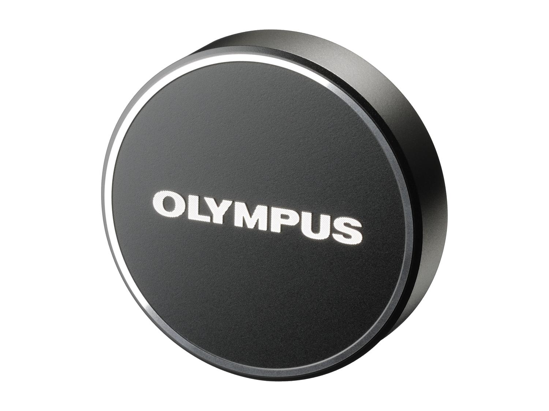 Olympus LC‑48B Tappo copriobiettivo metallico nero