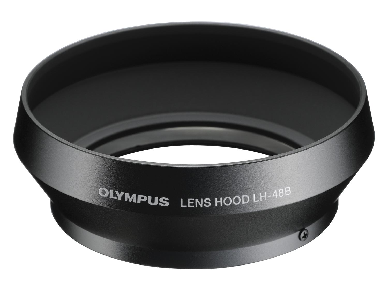 Olympus LH‑48B Paraluce in metallo nero