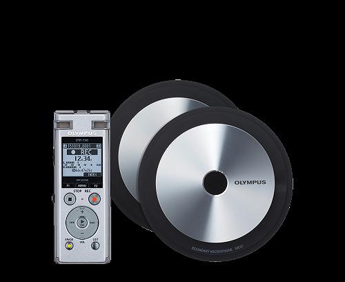 Olympus DM‑720 Meet & Record Kit | Edition large | 2 Microfoni