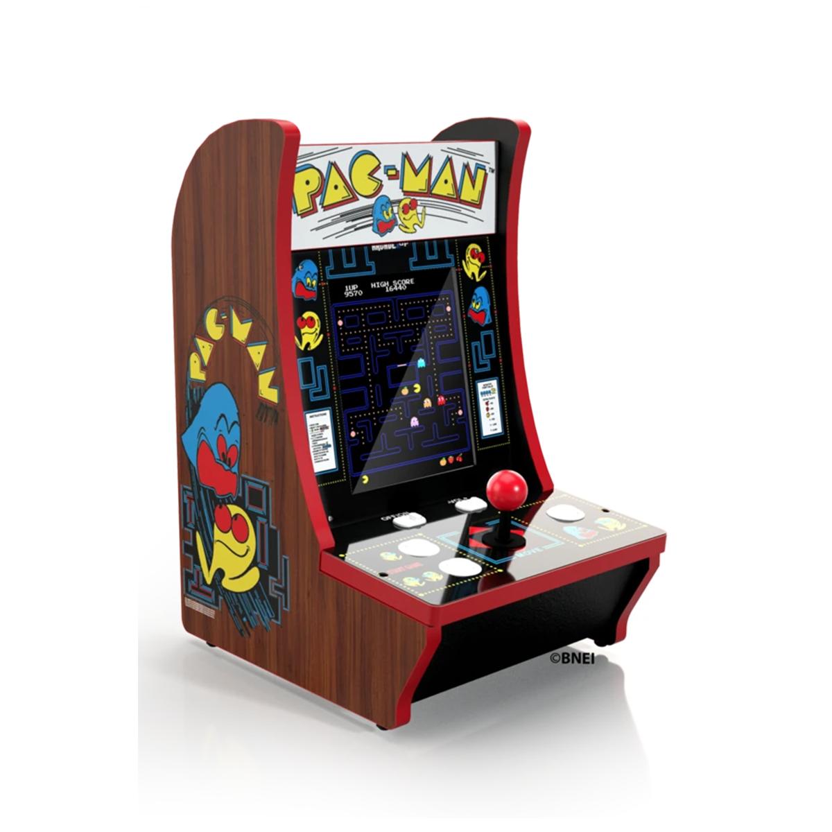 Giochi inclusi: Pac-man, Pac & Pal, Galaga e Dig Dug