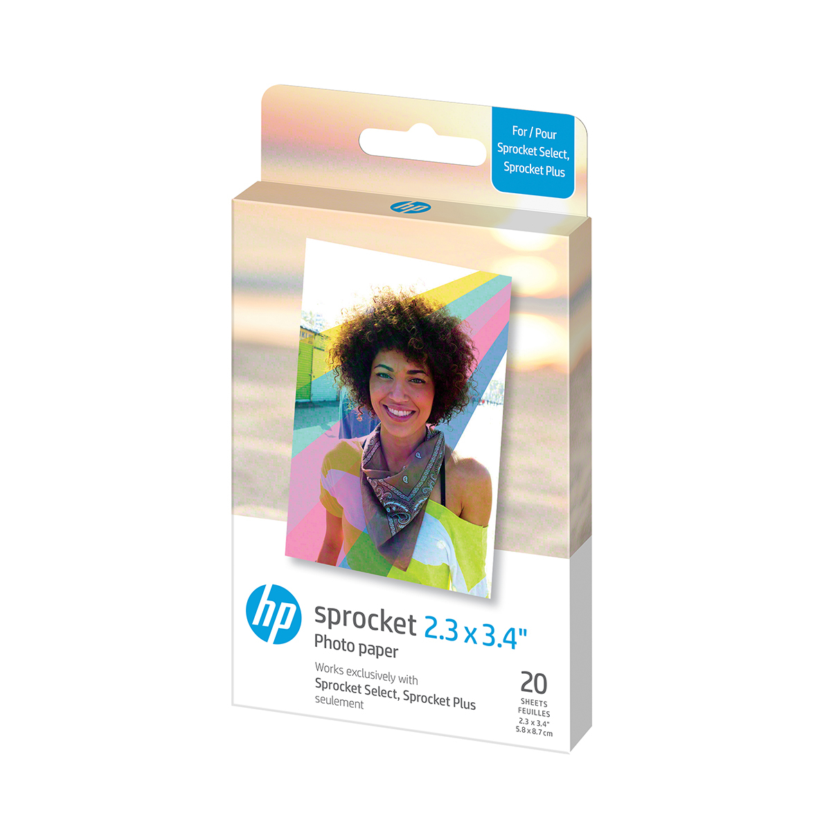 HP Sprocket Select 2.3x3.4 | 20 Fogli