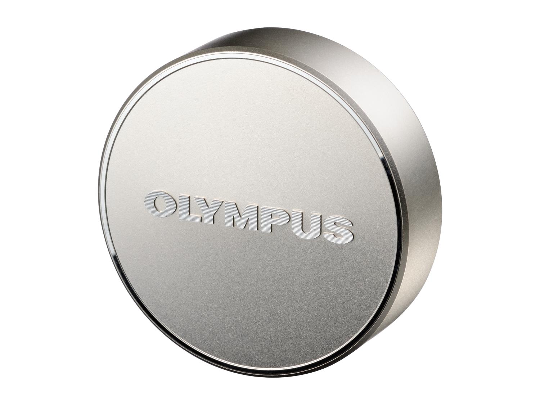 Olympus LC‑61 Tappo copriobiettivo metallico
