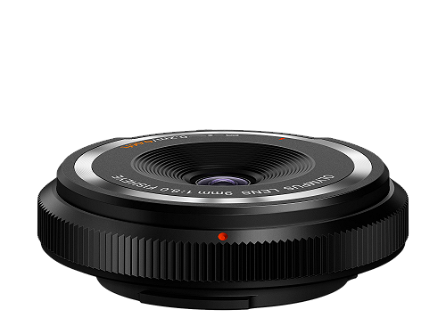 Body Cap Lens 9mm F8