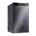 Sistema di refrigerazione di vini a temperatura e ambiente costante e stabile per 18 bottiglie