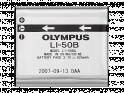 Olympus LI‑50B Batteria agli ioni di litio ricaricabile